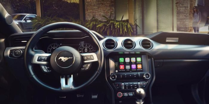 ford apple carplay android auto navigatie