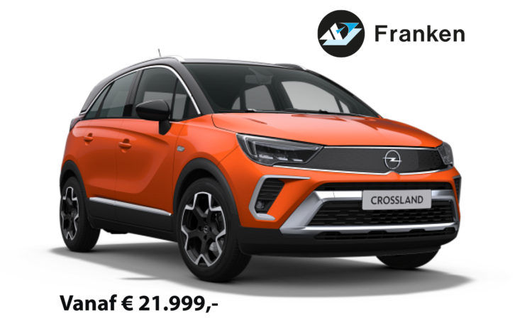 De Opel Crossland samenstellen