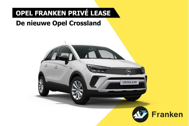 private lease opel crossland vanaf