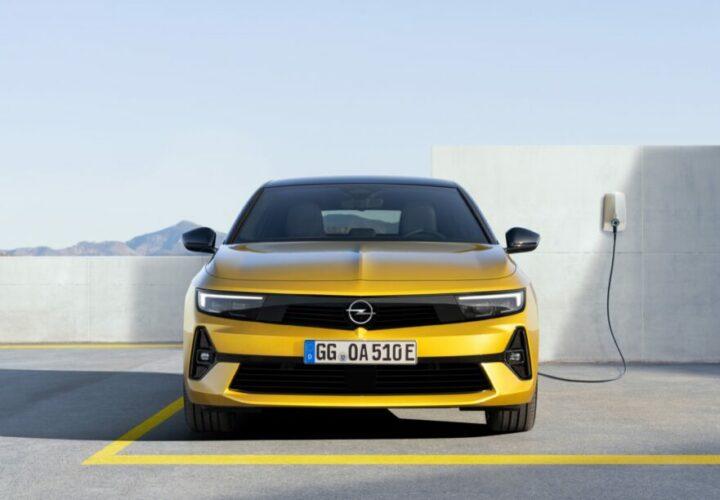 Hybride Opel Astra 2022