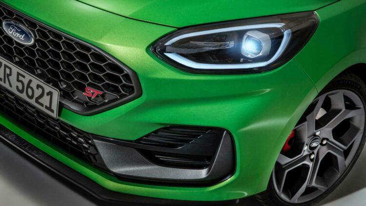 Fiesta ST Mean Green