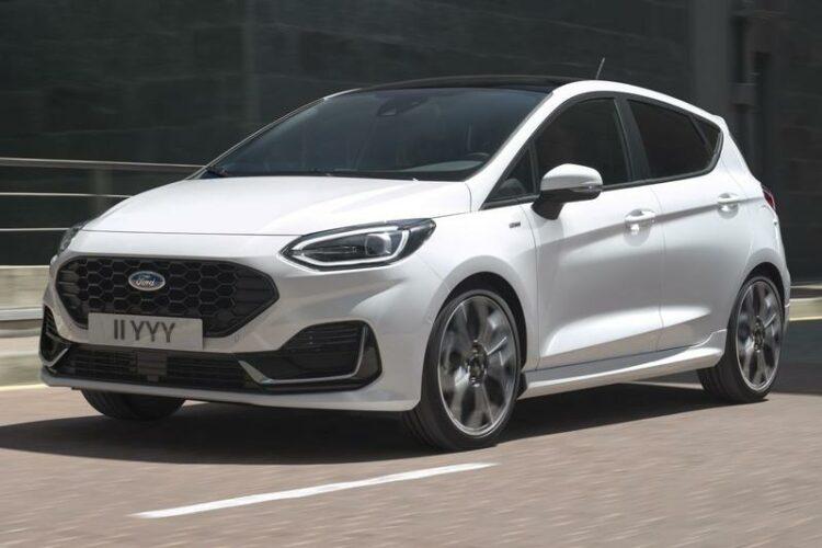 nieuwe Fiesta facelift 2022