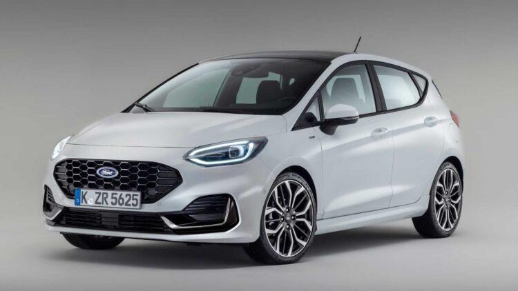 Nieuwe facelift Fiesta 2022